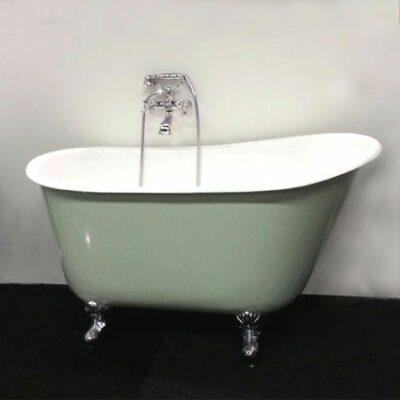 badkar med tassar mått