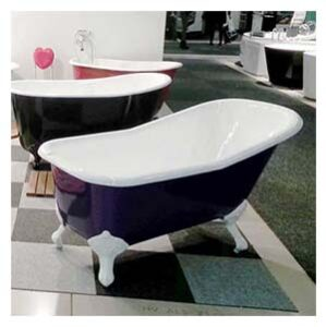 Fristående badkar 170 cm med tassar